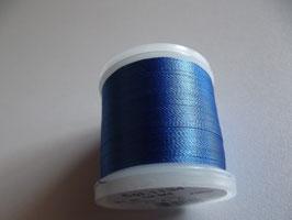Madeira Stickgarn blau