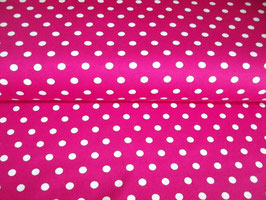 Jersey Punkte pink weiß Stenzo