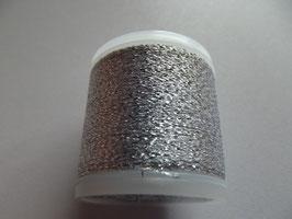Madeira Stickgarn Metallic Glitzer Silber