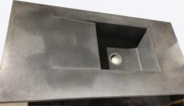 Beton Küchenspüle ca.160x70cm