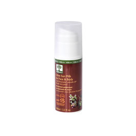 Protection solaire UVA UVB SPF15