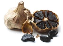 Gousses d'ail noir de Grèce