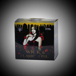 Demon Killer - Wick & Flame Coils 316L Prebuilt Wire Kit