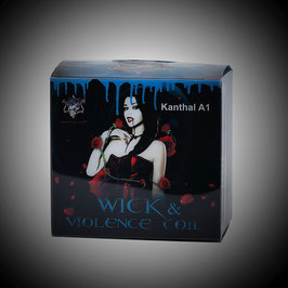 Demon Killer - Wick & Violence Coils Kanthal A1 Prebuilt Wire Kit