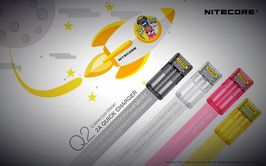 Nitecore - Ladegerät Q2 / Q4