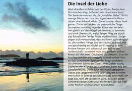 """Postkarte """"Die Insel der Liebe"""""""