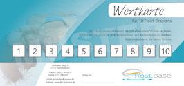 10-er Wertkarte