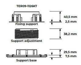TER09-1126KT SUPERSAVE Modulträger