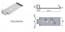 Universal Vertikalplatten Clipsystem Base Clip