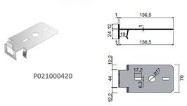 Universal Vertikalplatten Clipsystem Top Clip