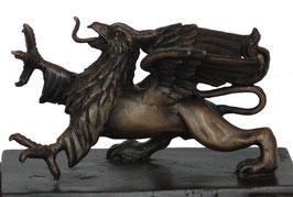 Rostocker Greif Bronzeskulptur klein