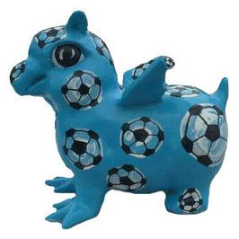 Rostocker Baby Greif, Motiv Fussball