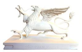 Rostocker Greif Skulptur Weiß
