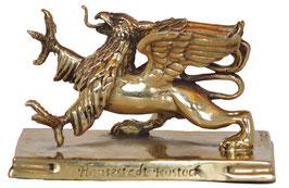 Rostocker Greif Bronzeskulptur Mittel