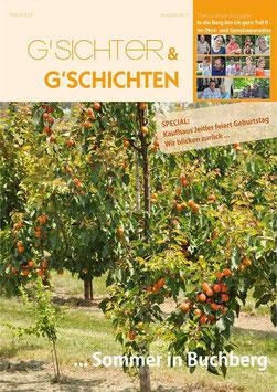 Magazin Nr. 5 - In die Berg bin I gern Teil 2 - im Gemüseparadies Buchberg