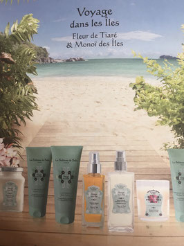 TAHITI: Tiare Flowers and Aloes Fragrance