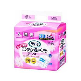 リリーフ モレ安心・肌さらさら テープ式 M15枚 8入 1パック1395円(税別)