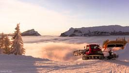 Winter Blankpkarten Unesco Biosphäre Entlebuch