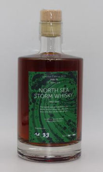 NORTH SEA STORM Whisky Sommer Edition 2015  ( 44,0 %Vol ) 500 ml Flasche
