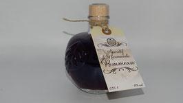 Pommeau - Aperitif de Normandie (Designflasche Apfel - 350 ml) 17%-vol - Naturtrüb