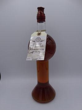 Pommeau - Aperitif de Normandie (Designflasche Fußball-Glas-Pokal-Flasche (700 ml) - 17% vol - Naturtrüb