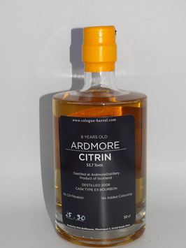 Ardmore CITRIN 8 Years (53,7% vol) 500 ml Flasche