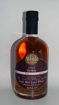 Glen Moray (TWC) 2005, 12 Jahre, 55,2%vol, ex refill Oloroso cask - SPEYSIDE - 0,5l