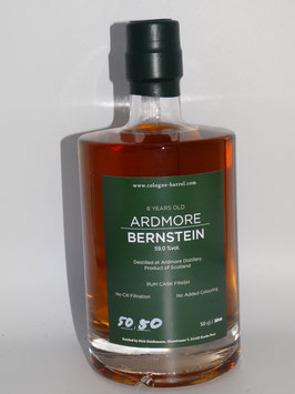 Ardmore BERNSTEIN 8 Years (59,0% vol) 500 ml Flasche