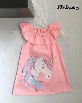 Vestido Rosa Unicornio