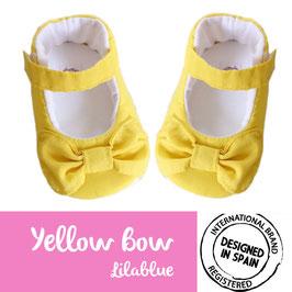 Mercedita Yellow bow