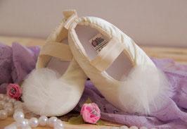 Bailarina satín beige CER-16