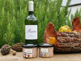 Herbst-Winter Genuss mit Pâté und Weisswein