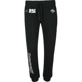 SPALDING Team II Sweatpants 4her Schwarz mit BBZ Logo