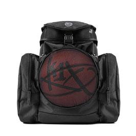 K1X CAMP BACKPACK black mit BALLNETZ