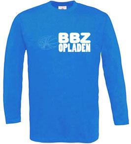 Longsleeve Royal mit BBZ Opladen Logo und Wunschnamen