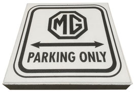 MG PARKEERTEGEL