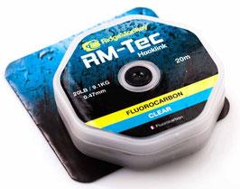 RidgeMonkey RM-TEC Fluorocarbon Hooklink 15/20lb 20m