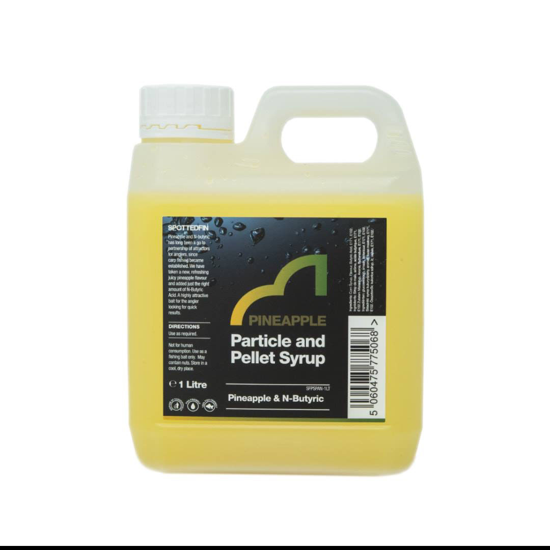 Spotted Fin Pineapple and N-Butyric Raticle & Pellet Syrup 1 Liter