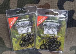 Gardner Tackle COVERT DARK MUGGA CONTINENTAL - ECO 20 BULK PACK