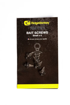 RidgeMonkey RM-TEC Hook Ring Bait Screw Size 18