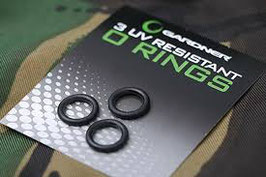 Gardner Tackle UV Resistant O-Rings 3 er Set