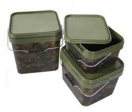 Gardner Tackle Camo Square Bucket
