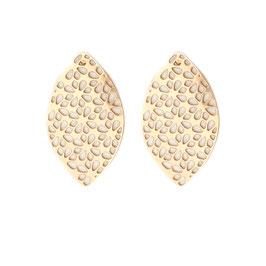 Boucles d'oreilles LUCIA doré