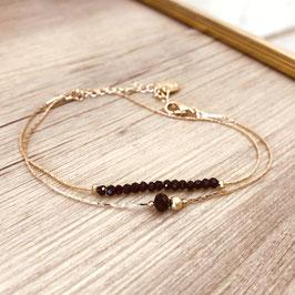 Bracelet ANAIS / Noir