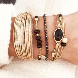Bracelet Manchette EDEN / Doré