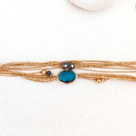 Bracelet JULES /Bleu Océan
