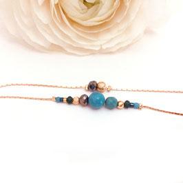 Bracelet MILA / Vert Tropique