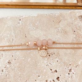 Bracelet BROOKLYN / Rose doux