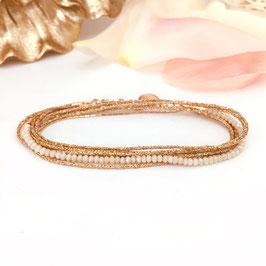 Bracelet LÉO / Beige