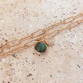 Bracelet BILLY / Vert Tropique